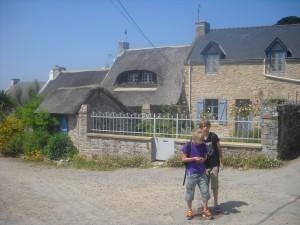 Maison typiquement breton